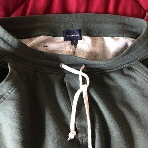 J.Crew green medium slim sweatpants